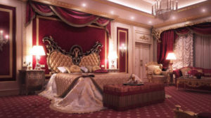 image of a romantic bedroom